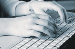 Totally arbitrary photo of hands typing. (Photo courtesy of rgbstock.com)
