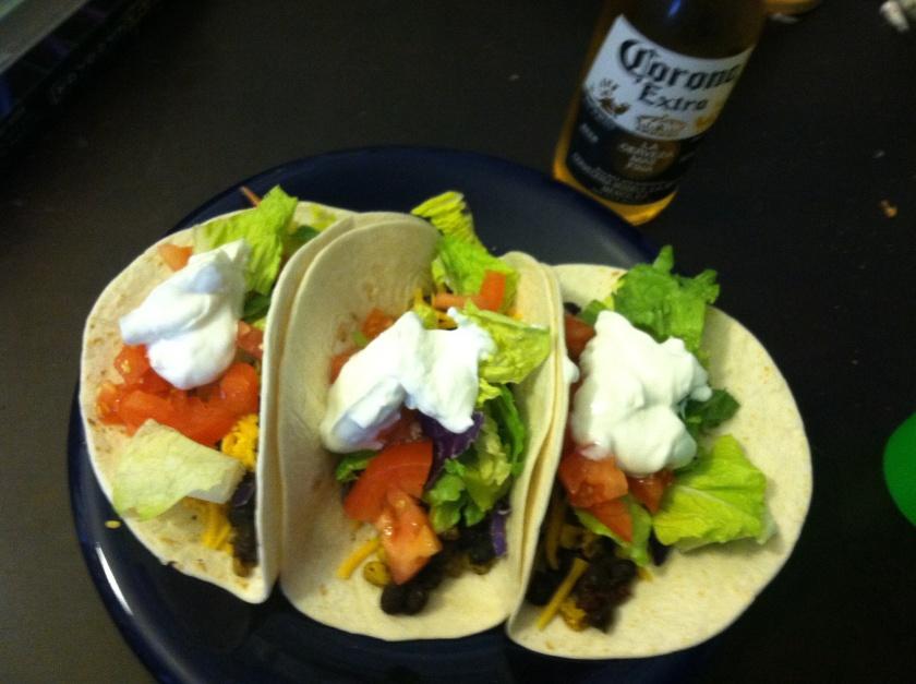 Veggie Tacos!